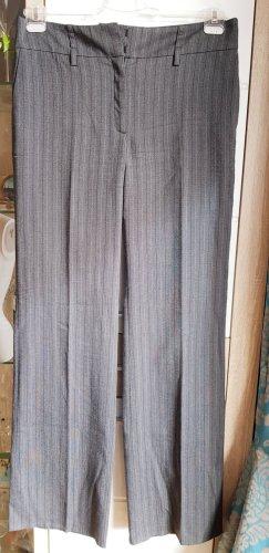 Zara Wełniane spodnie szary
