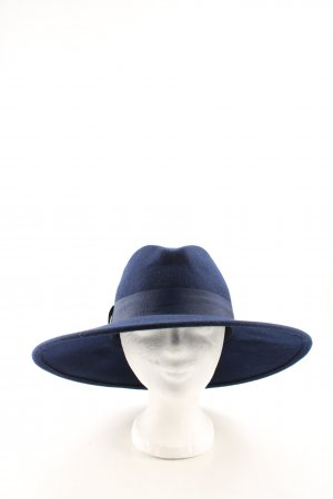 Zara Woolen Hat blue business style