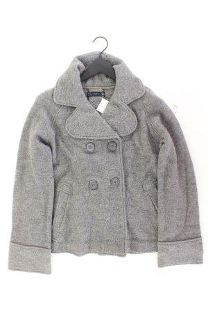 Zara Wolljacke Größe L grau aus Wolle