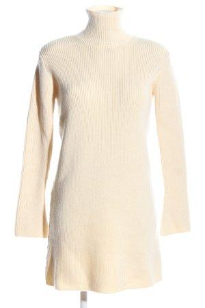 Zara Wollkleid creme Casual-Look