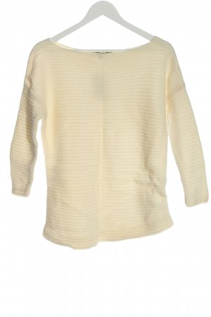Zara Wollpullover creme Casual-Look