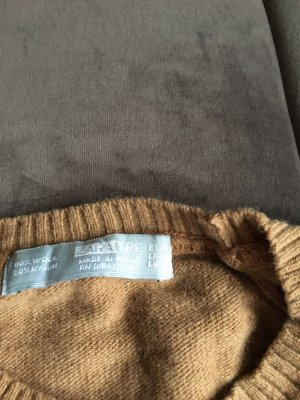 Zara Wool Sweater camel