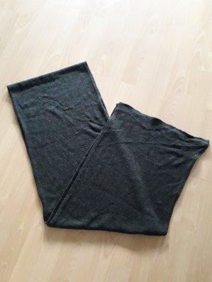 Zara Accesoires Bufanda de lana negro-gris oscuro