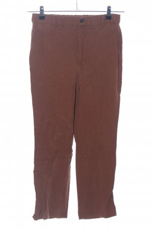 Zara Woman 3/4-Hose braun Casual-Look