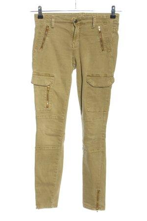 Zara Woman 7/8 Length Trousers khaki casual look