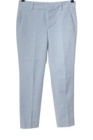 Zara Woman 7/8-Hose blau Business-Look