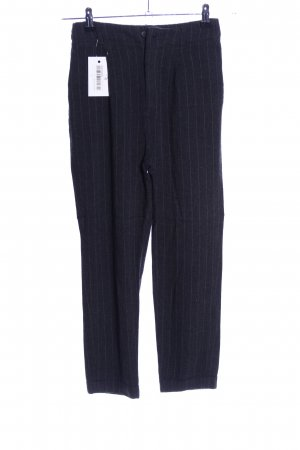 Zara Woman 7/8-Hose schwarz Streifenmuster Business-Look