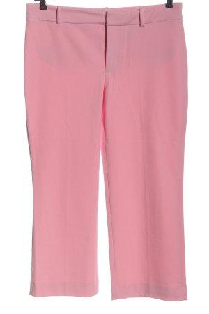 Zara Woman 7/8-Hose pink Allover-Druck Casual-Look