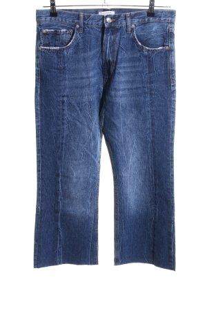 Zara Woman 7/8 Jeans blau Casual-Look