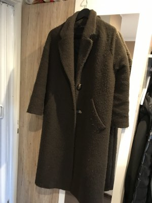 Zara Woman Oversized Coat multicolored