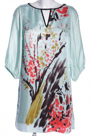 Zara Woman A-Linien Kleid Motivdruck Business-Look