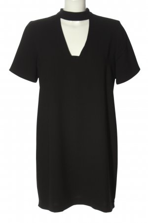 Zara Woman A-Linien Kleid schwarz Casual-Look