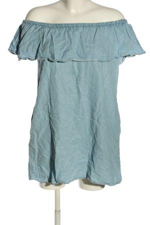 Zara Woman A-Linien Kleid blau Casual-Look