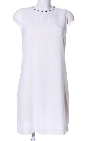Zara Woman A-Linien Kleid weiß Casual-Look