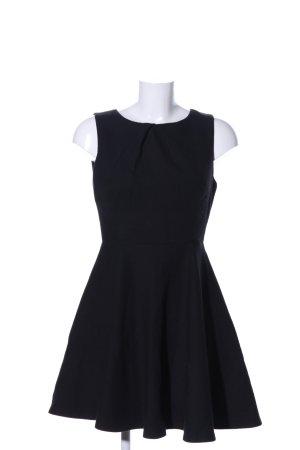 Zara Woman A-Linien Kleid schwarz Business-Look