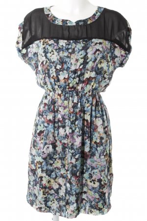 Zara Woman A-Linien Kleid mehrfarbig