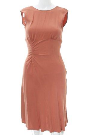 Zara Woman A-Linien Kleid lachs Elegant
