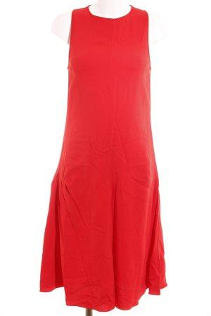 Zara Woman A-Linien Kleid rot Casual-Look