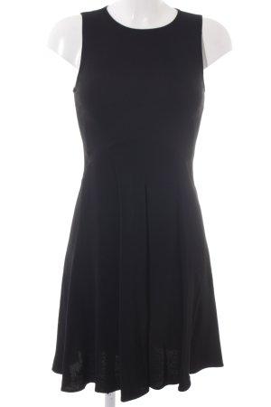 Zara Woman A-Linien Kleid schwarz Elegant