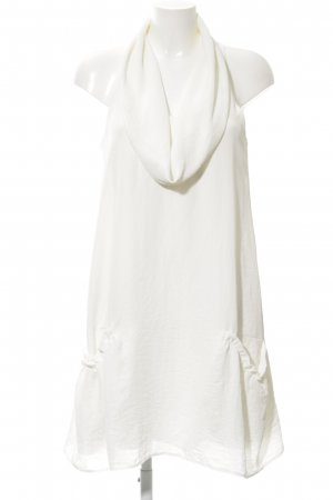 Zara Woman A-Linien Kleid wollweiß extravaganter Stil