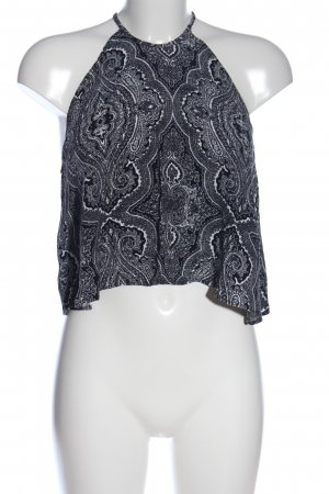 Zara Woman A-Linien Top Mustermix Casual-Look