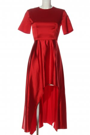 Zara Woman Abendkleid rot Elegant