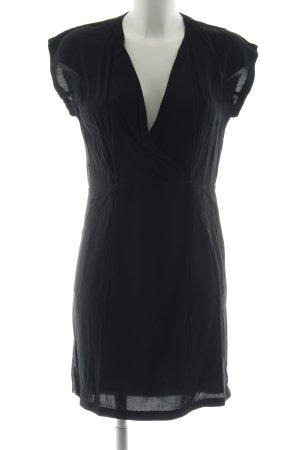 Zara Woman Abendkleid schwarz Business-Look