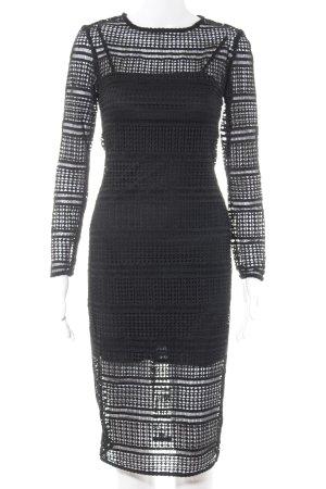 Zara Woman Abendkleid schwarz Elegant