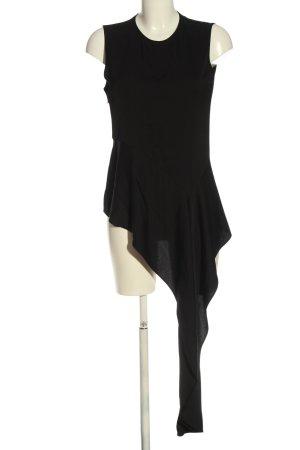 Zara Woman ärmellose Bluse schwarz Elegant