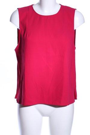 Zara Woman ärmellose Bluse rot Casual-Look