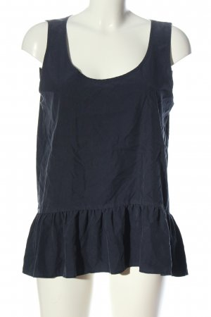 Zara Woman ärmellose Bluse blau Casual-Look