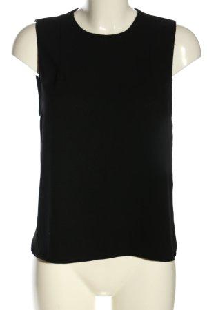 Zara Woman ärmellose Bluse schwarz Casual-Look