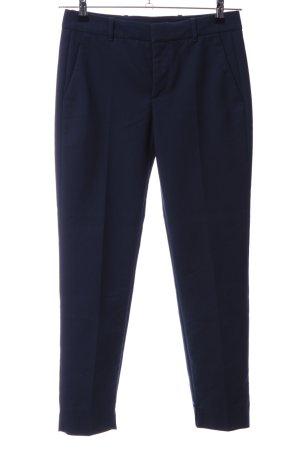 Zara Woman Anzughose blau Business-Look
