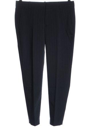 Zara Woman Pantalon zwart-wit gestreept patroon zakelijke stijl