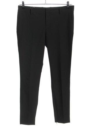 Zara Woman Anzughose schwarz meliert Casual-Look