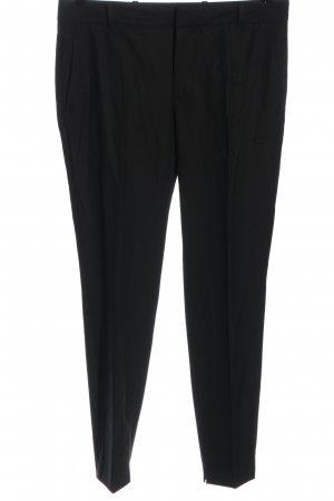 Zara Woman Pantalone da abito nero stile casual