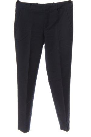 Zara Woman Spodnie garniturowe niebieski W stylu biznesowym