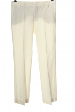 Zara Woman Anzughose creme Business-Look