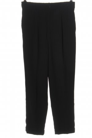 Zara Woman Anzughose schwarz Casual-Look