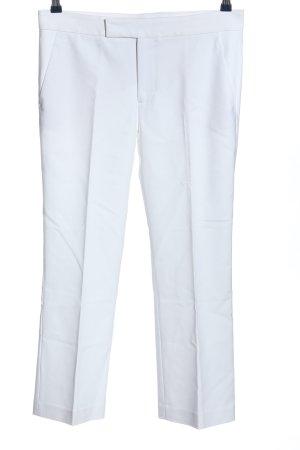 Zara Woman Anzughose weiß Casual-Look
