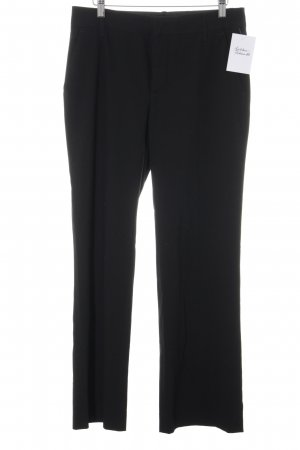 Zara Woman Anzughose schwarz Business-Look