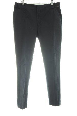 Zara Woman Pantalón de vestir negro estilo «business»
