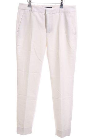 Zara Woman Anzughose weiß Business-Look
