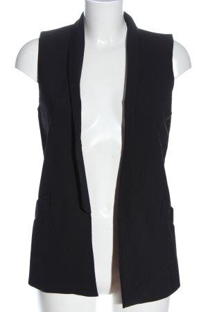 Zara Woman Waistcoat black business style