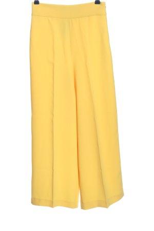 Zara Woman Baggy Pants blassgelb Casual-Look