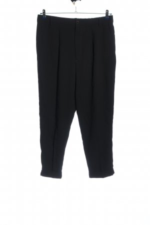 Zara Woman Baggy Pants schwarz Business-Look
