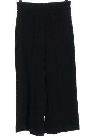 Zara Woman Pantalón abombado negro estilo «business»