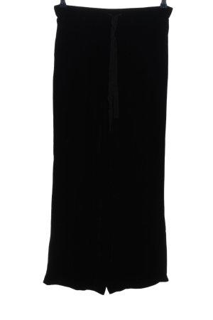 Zara Woman Baggy Pants schwarz Casual-Look