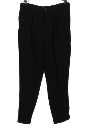 Zara Woman Pantalon «Baggy» noir style décontracté