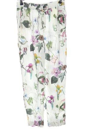 Zara Woman Baggy broek volledige print casual uitstraling
